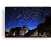Squeaky Trails Canvas Print