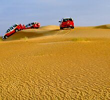 Dune-bashing by Paige