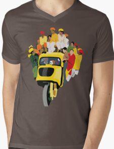 COLORS OF INDIA Mens V-Neck T-Shirt