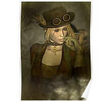 Chardonnay - Steampunk Supermodel Poster