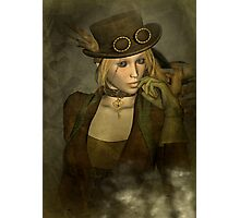 Chardonnay - Steampunk Supermodel Photographic Print