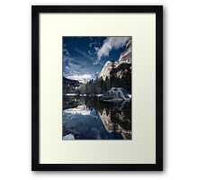 Mirror Mirror - Mirror Lake, Yosemite National Park Framed Print
