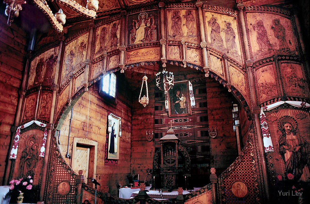 St.Dora's Church, Yaremche Ukraine by Yuri Lev