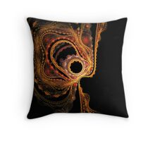 Sinuous Curves No.1 Throw Pillow