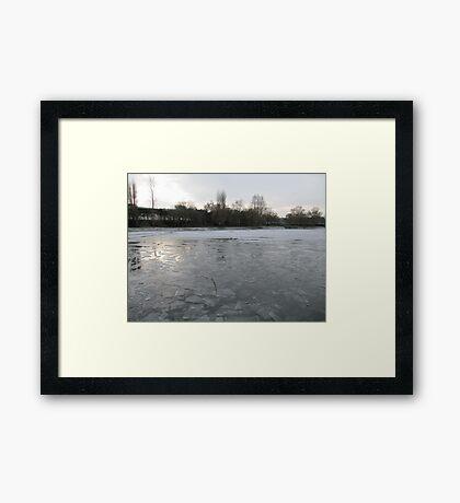 Atlantic Pond Framed Print