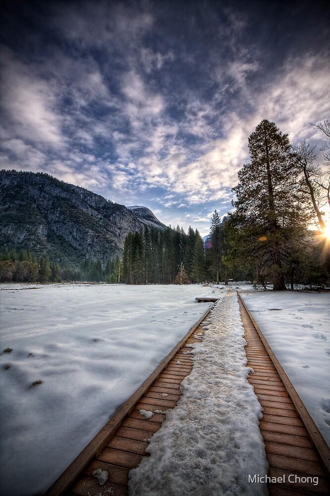 Beautiful Journey - Yosemite National Park by Michael Chong