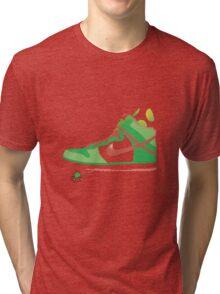 Bal-ang! Yoshi got dunks. Tri-blend T-Shirt