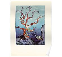Tanglewood Tales by Nathaniel Hawthorne with Illustrations by Virginia Frances Sterrett 1921 203 Beneath the Sea Poster