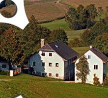Beautiful traditional farmland scenery | landscape photography Sticker