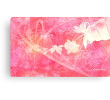 Bring Me Flowers- Pink  Art + Products Design  Canvas Print