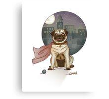 Captain pug! Canvas Print