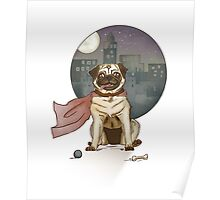 Captain pug! Poster