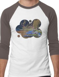 Boats in the harbour II | waterscape photography Men's Baseball ¾ T-Shirt