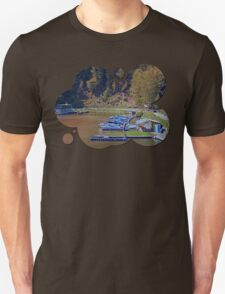 Boats in the harbour II | waterscape photography T-Shirt