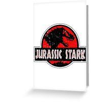 Jurassic Stark Greeting Card