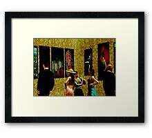 The exhibition Framed Print