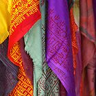 Scarves, Kathmandu by AlliD