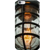 Edison industrial light iPhone Case/Skin