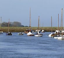 A Perfect Day for Sailing (Burnham Overy Straithe) by johnny2sheds
