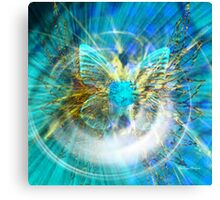 Love is like a butterfly-Abstract  Art + Products Design  Canvas Print