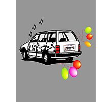 The Party Wagon Photographic Print