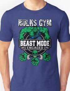 Hulks Gym - Beast Mode Engaged T-Shirt