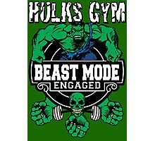 Hulks Gym - Beast Mode Engaged Photographic Print