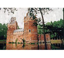 Beersel Castle - Belgium Photographic Print