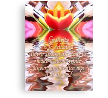 flower of creativity Metal Print