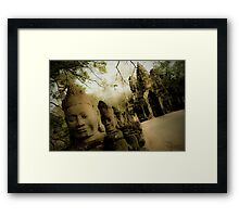 Gods at the Gate II Framed Print