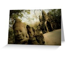 Gods at the Gate II Greeting Card