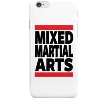 Mixed Martial Arts iPhone Case/Skin