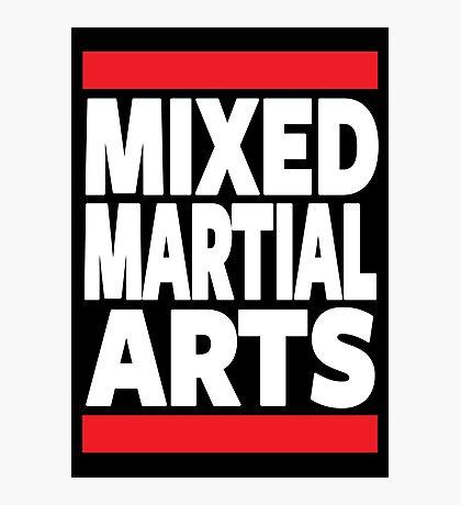 Mixed Martial Arts Photographic Print
