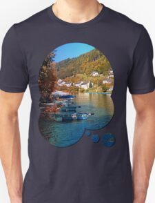 Boats in the harbour | waterscape photography T-Shirt