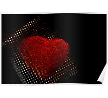 Light Prevails through RedBubble Hearts Poster