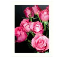 Pink Romance Art Print