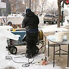 Creating an Ice Sculpture by Susan Russell
