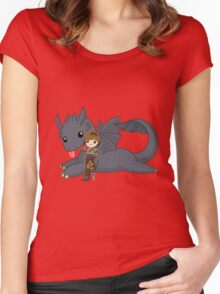 How to train your dragon [Ultimate] Women's Fitted Scoop T-Shirt