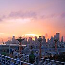 Sailling from Miami at Sunset by Memaa