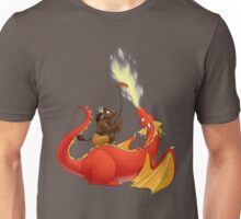 Dragon barbecue Unisex T-Shirt