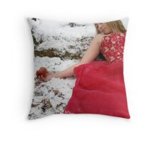 She Lives In A Fairytale 04 Throw Pillow