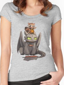 How to train your dragon ! Women's Fitted Scoop T-Shirt