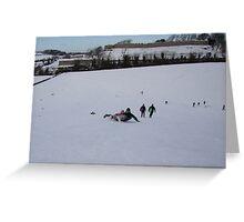Winter Fun. Greeting Card