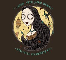 Listen with your heart Unisex T-Shirt