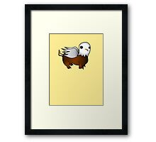 Cute Dumb Griffin Framed Print