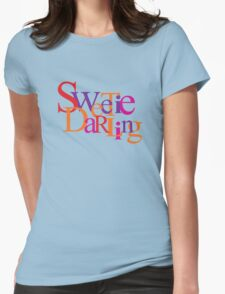 Sweetie Darling Womens Fitted T-Shirt