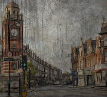 painting/artwork of crouch end north london N8  by chrissiexxx68