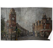 painting/artwork of crouch end north london N8  Poster