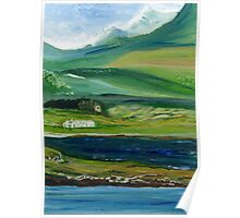 Connemara Mountain Landscape, Ireland Poster