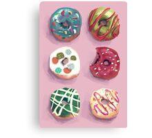 Donuts Canvas Print